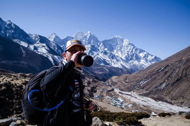 Drinking Water in Everest Base Camp