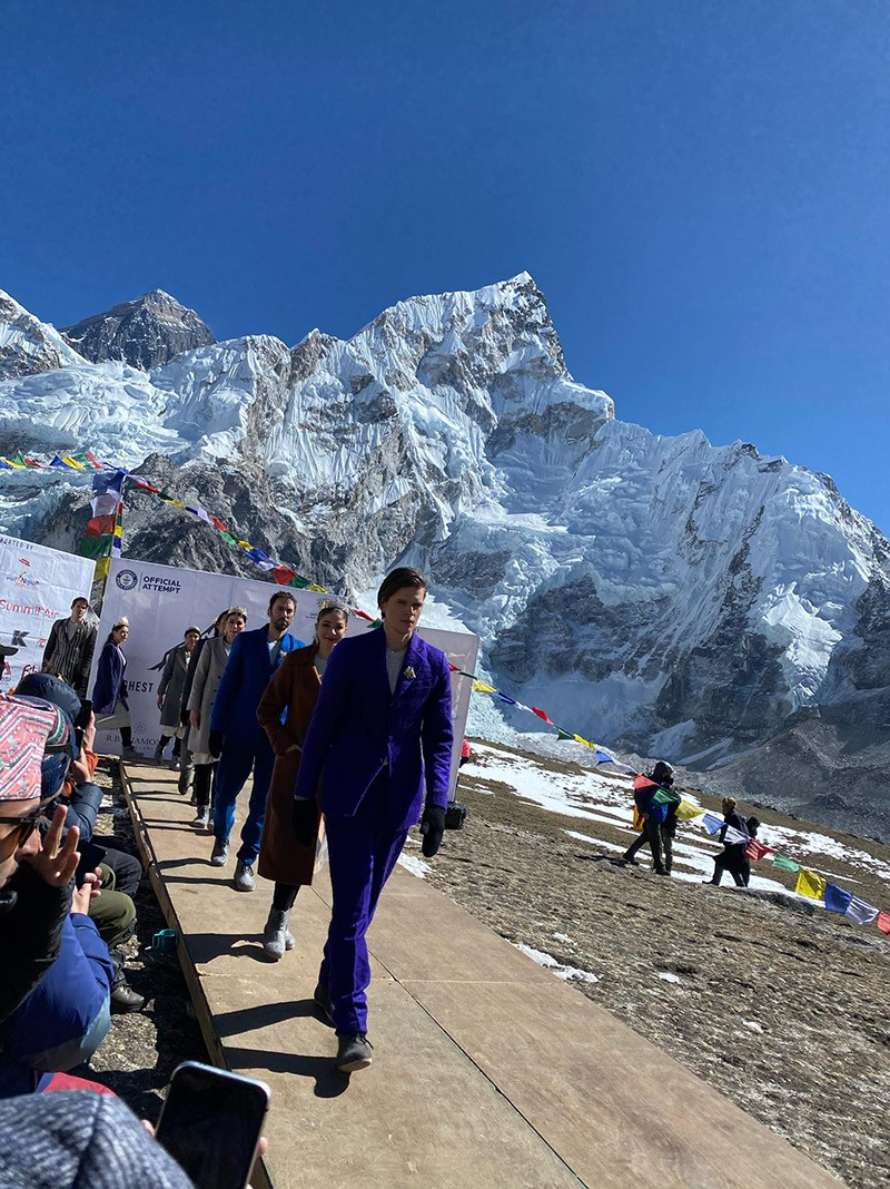 Everest Fashion Runway 2020