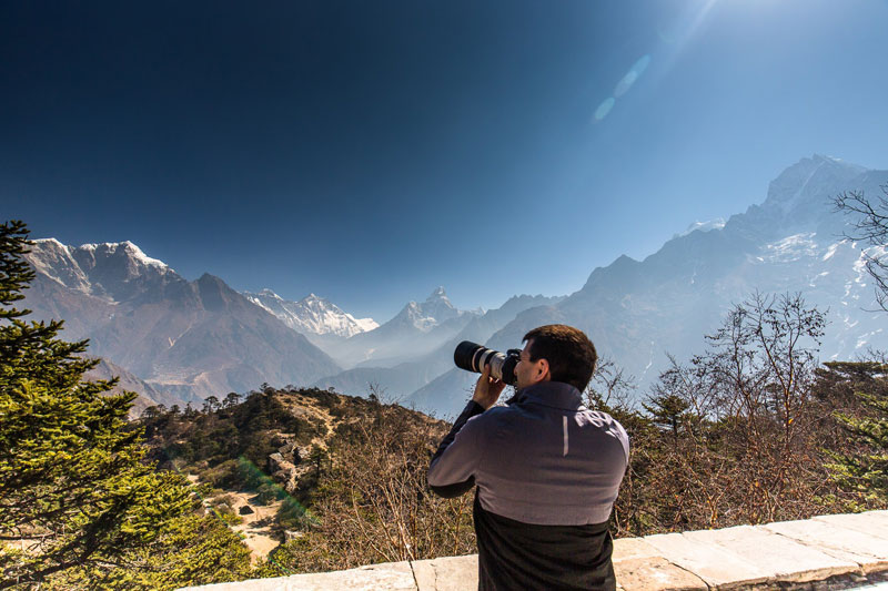 Photography Everest Base Camp Heli tour