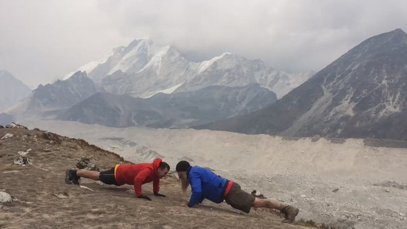 Yoga Trek In Everest region