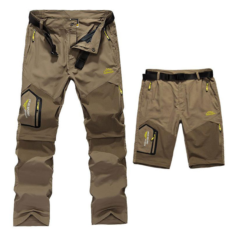 Trekking trouser and shorts preview