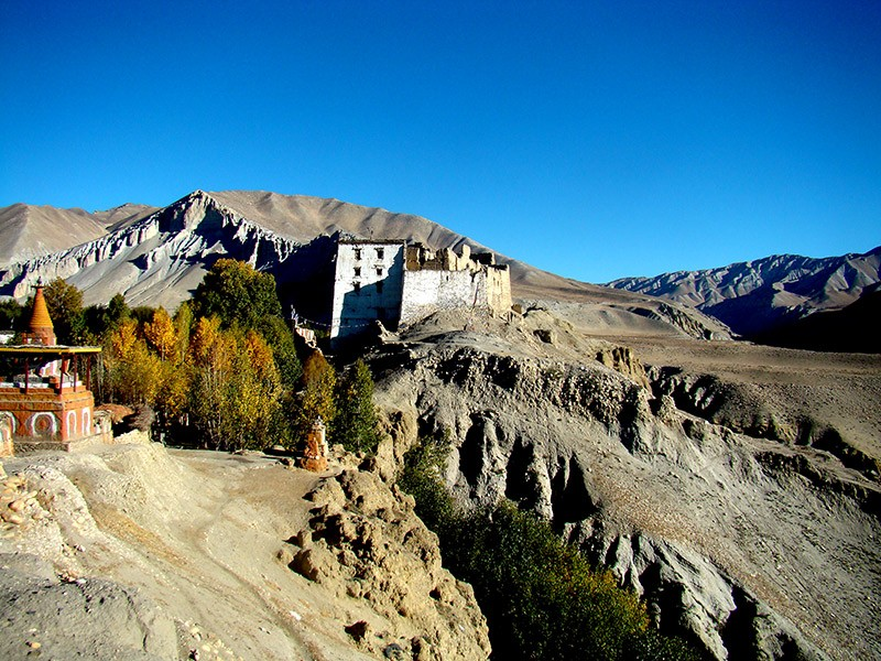 beautiful valley of mustang