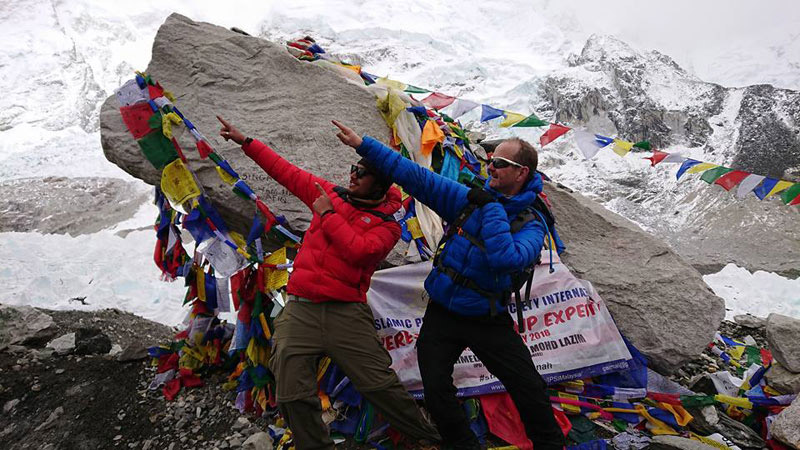 Celebration of Success Everest Trek Story