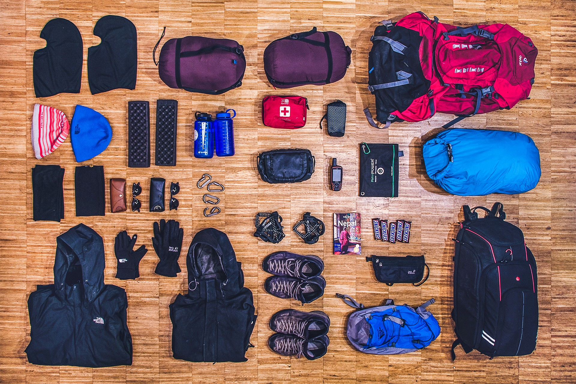Everest Base Camp Trekking Equipment