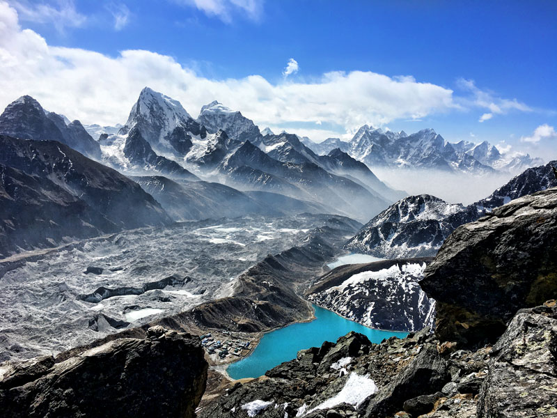 Gokyo Lakes - Everest 3 High Pass Trekking