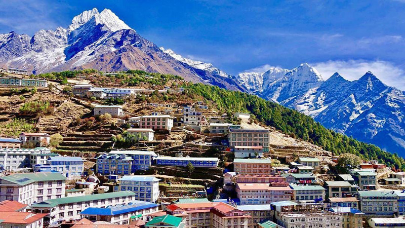 Namche Bazaar- Everest Base Camp Trekking
