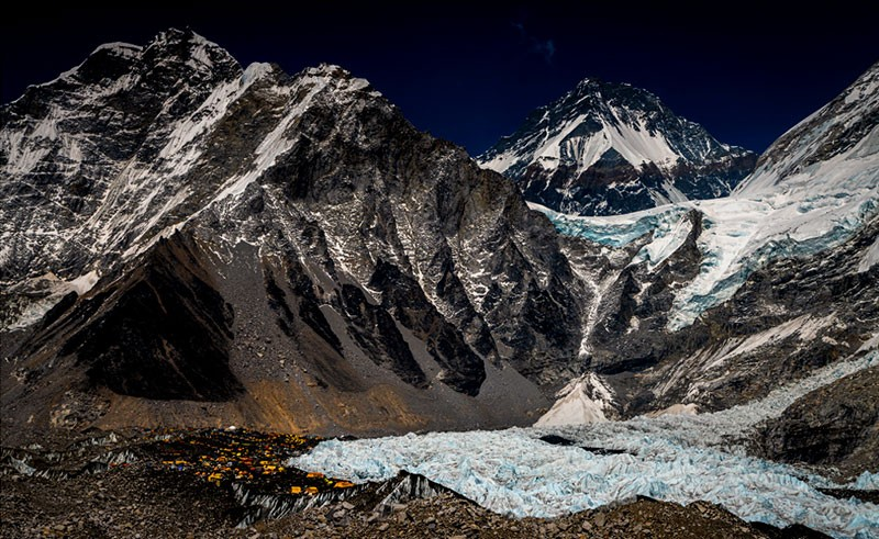 Everest Base Camp in 2021