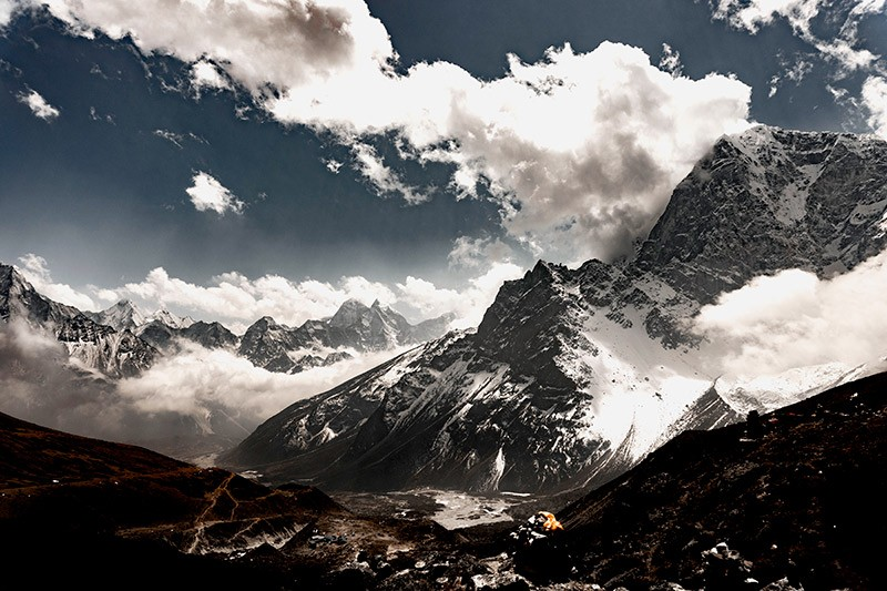 Take time to acclimatize and enjoy the beauty of Mount Everest
