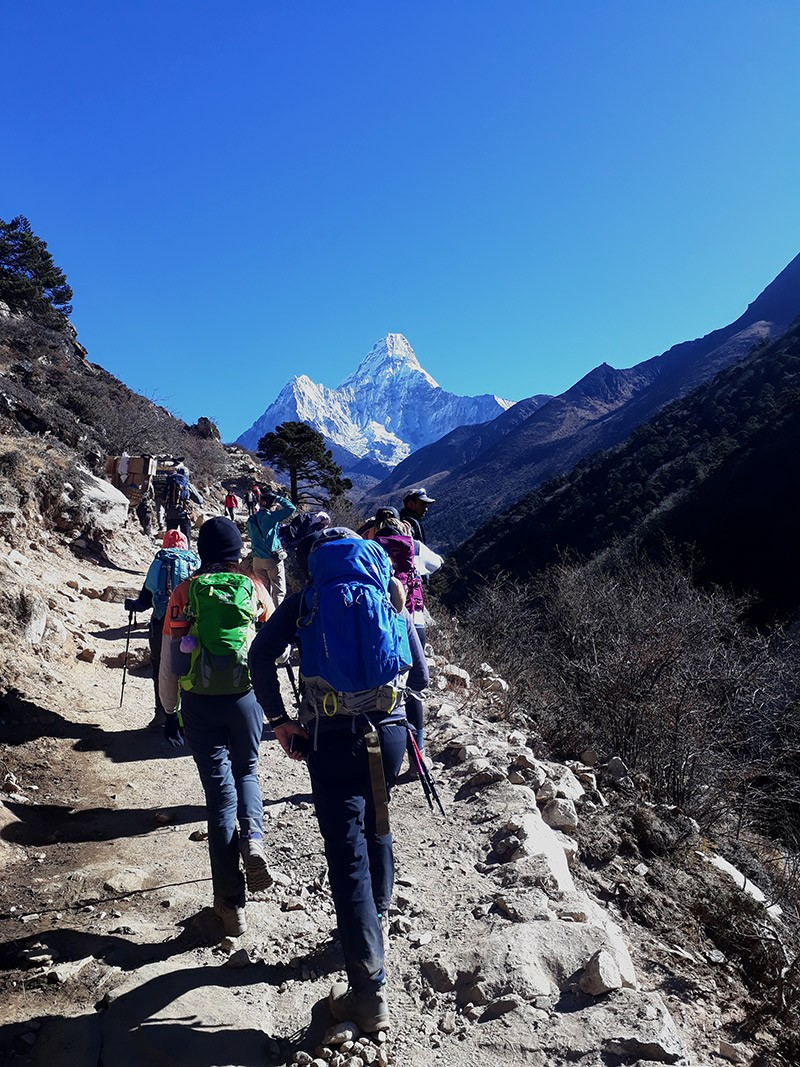 Hiking to Everest Base Camp after covid 19