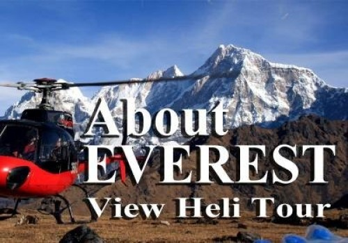 1 Day Everest View Helicopter Tour