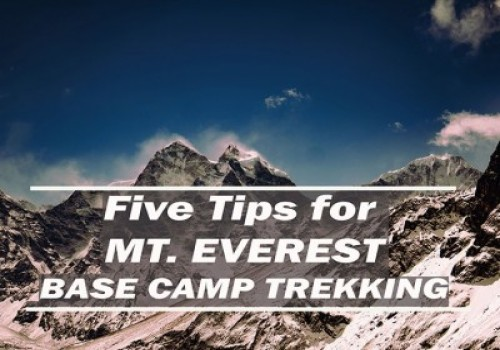 5 Tips about Everest Base Camp Trek You Can Use Today