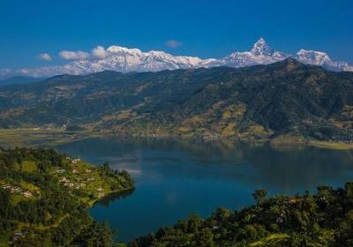 Himalayan Lakes In Nepal
