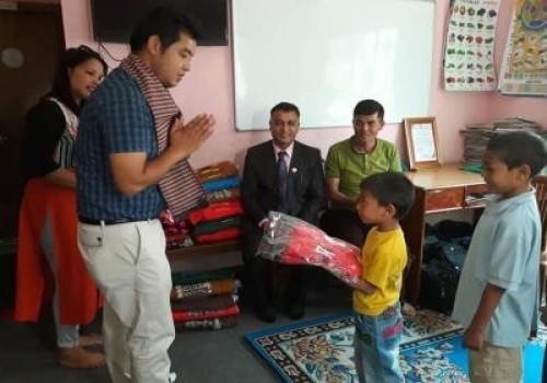 Birthday Celebration at Orphanage House