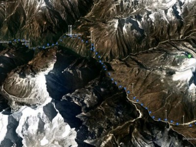 Everest Base Camp Hike Map
