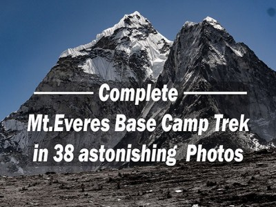 Mount Everest Base Camp Trek in Photographs