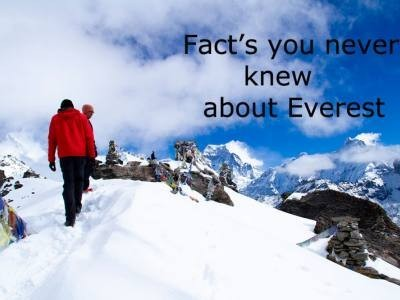 Facts You Never Knew About Everest