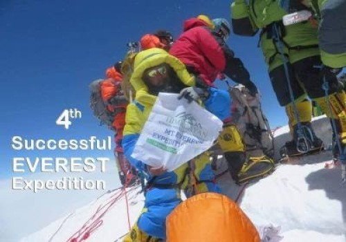 4th Successful Summit of Everest
