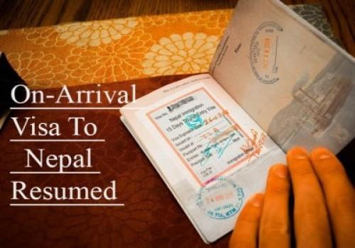On-Arrival Visa to Nepal Resumed