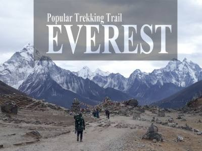Popular Trekking Trail Everest