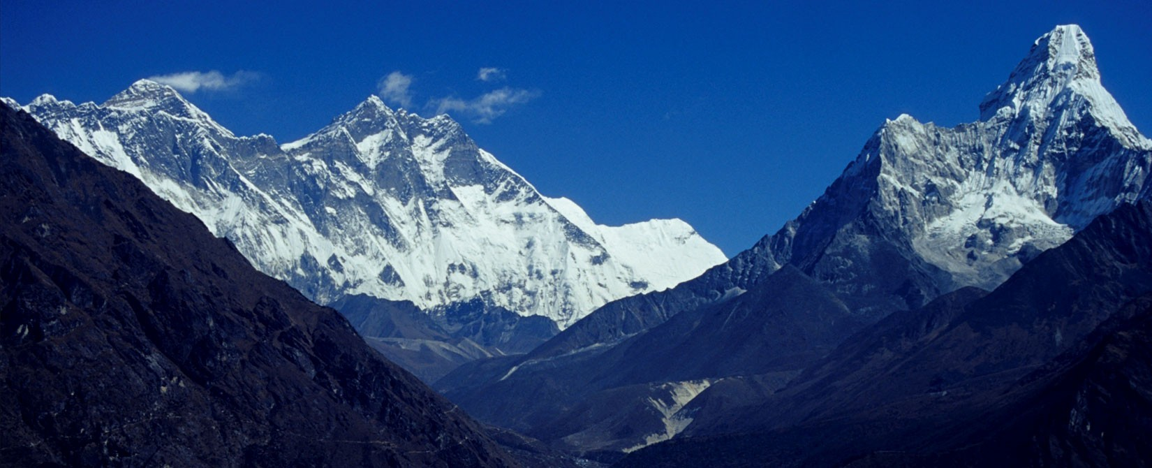Magnificent View of Mount Ama Dablam