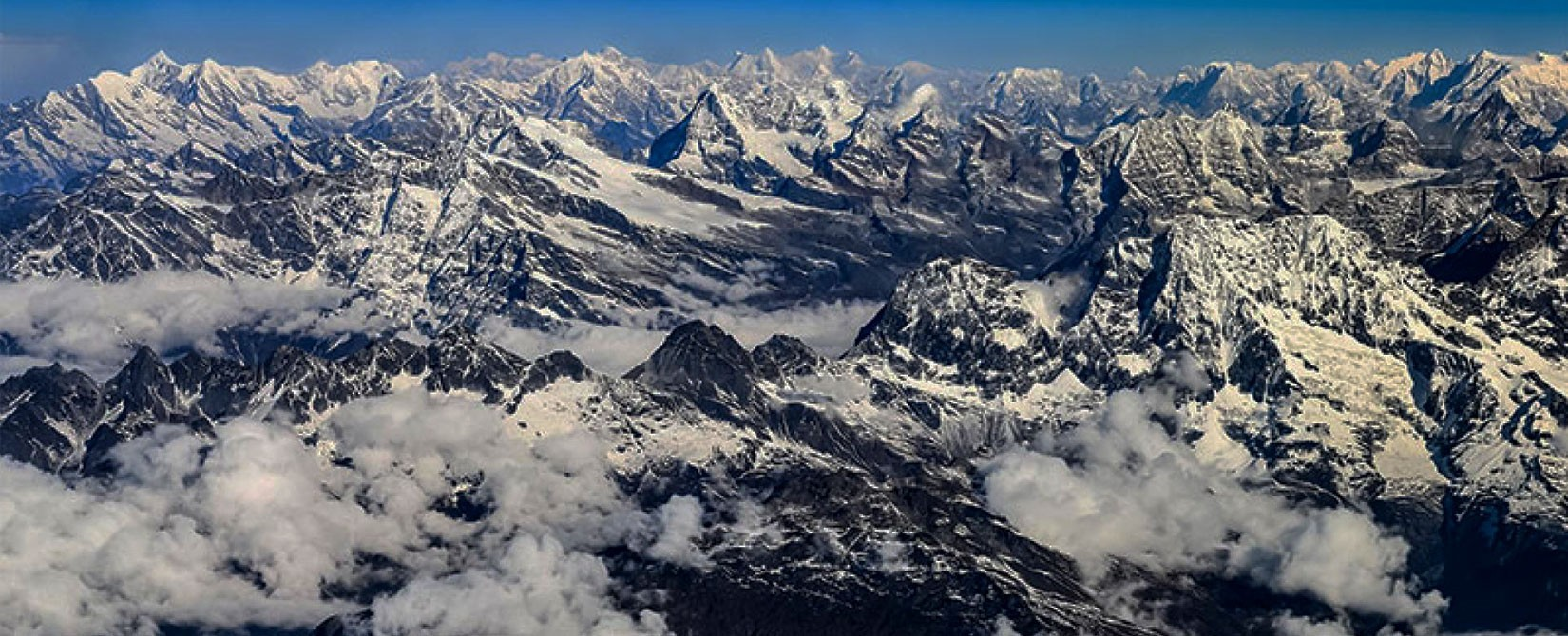 Panaromic View of Everest