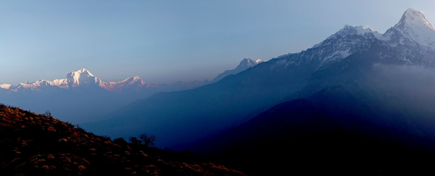 Annapurna Range from Muldea Viewpoint