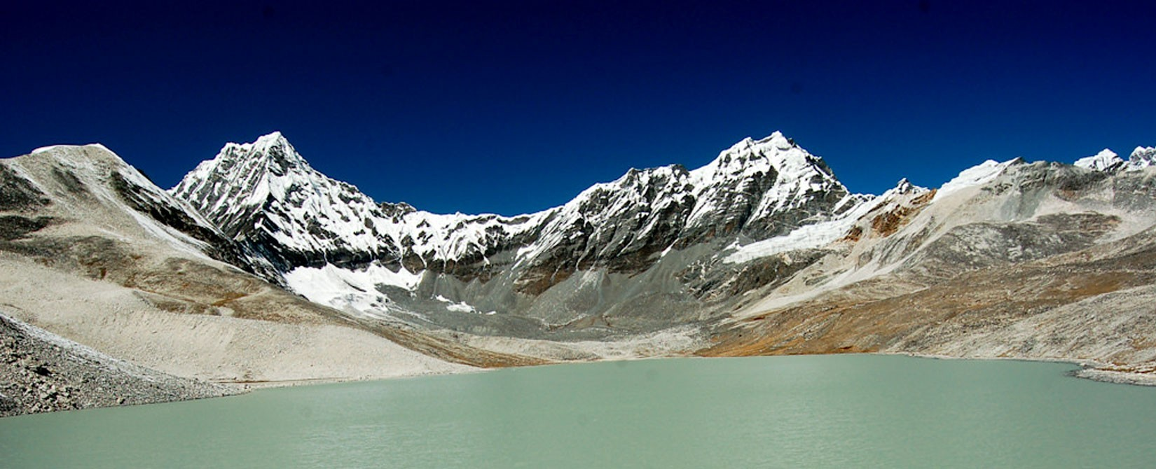 Panchpokhari holy lake in Nepal