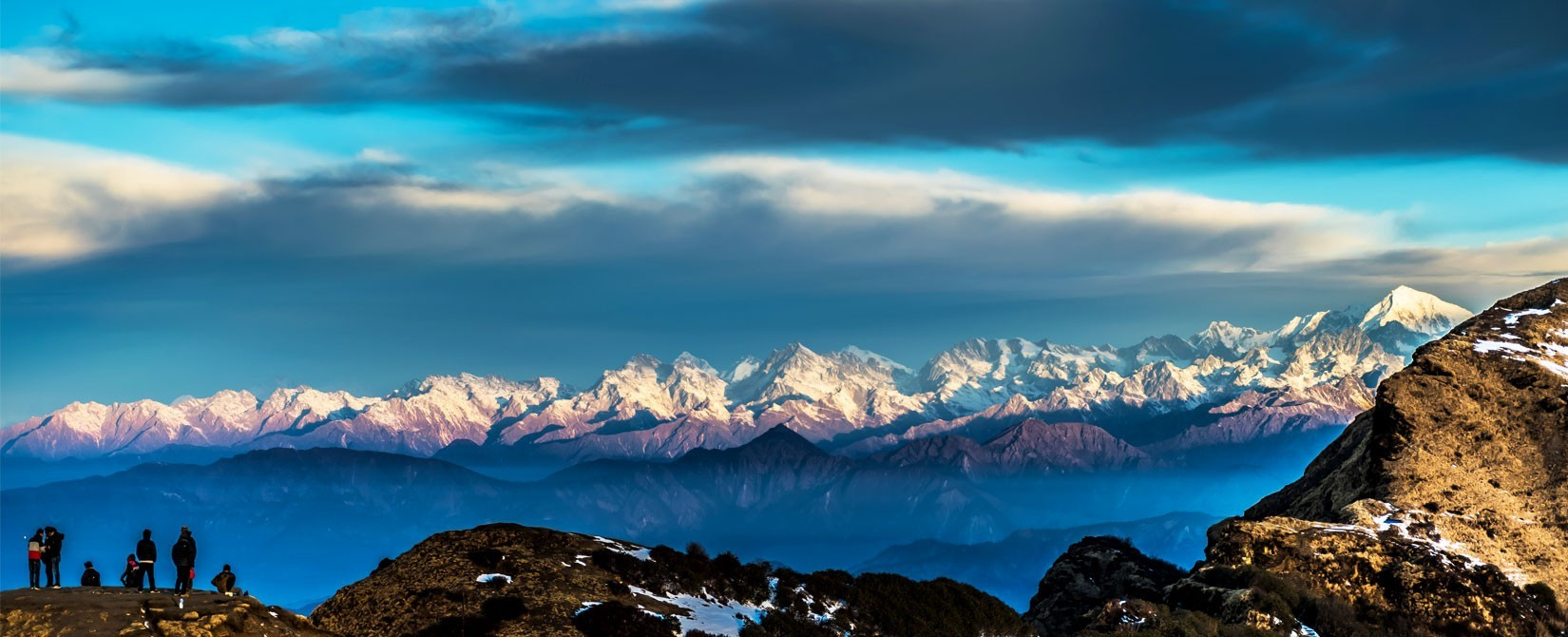 Kalinchowk view's of Mountains