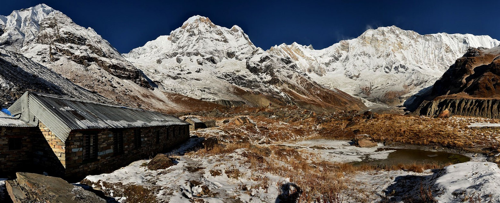 Annapurna Base Camp Panoramic view