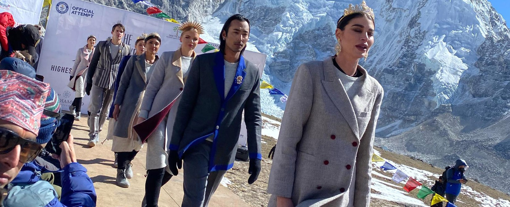 Mount Everest Fashion Runway 2020