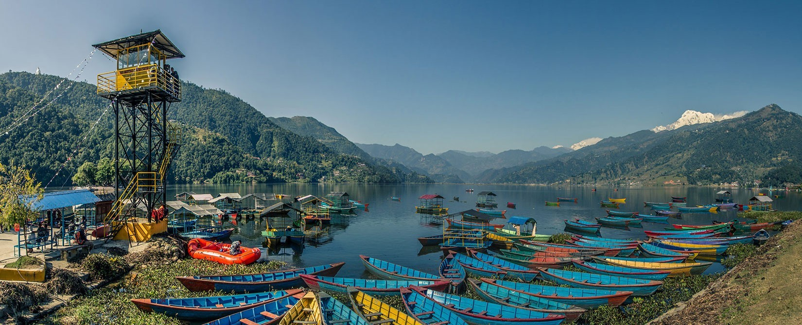 Pokhara lake site