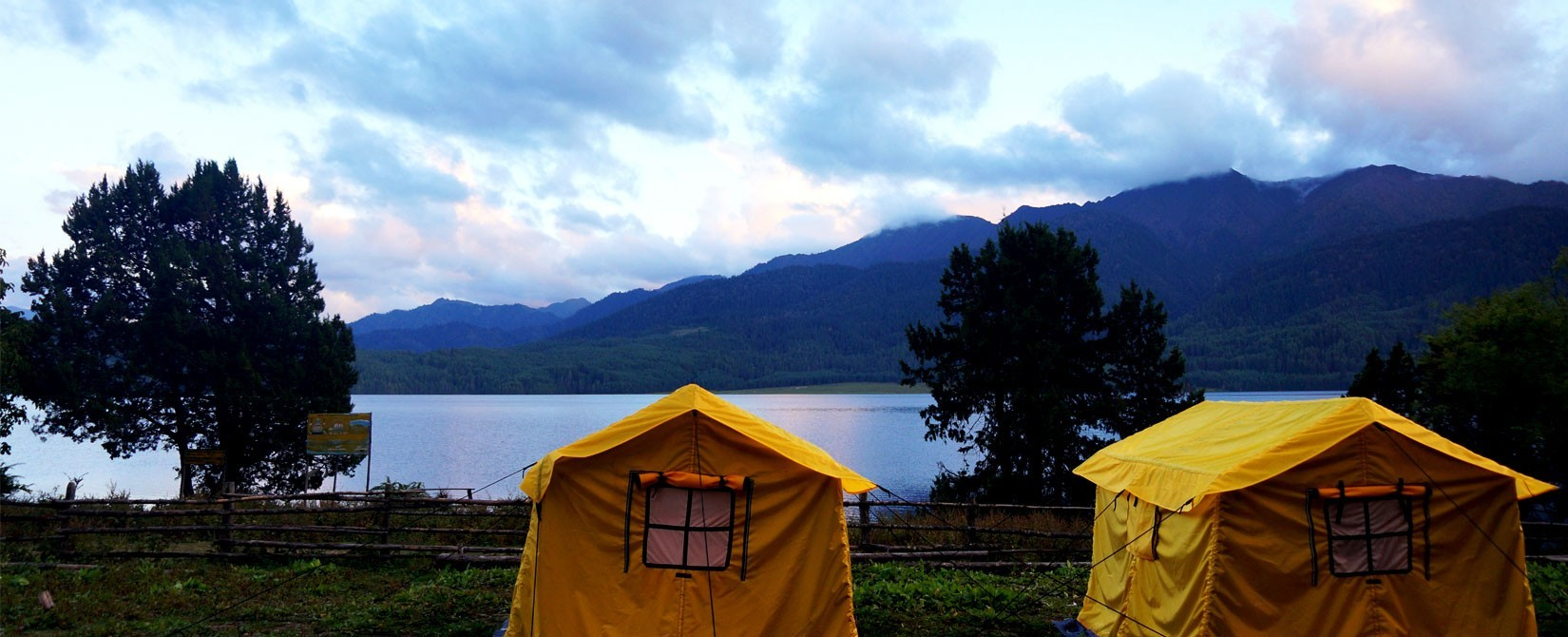 Camping in Rara Lake