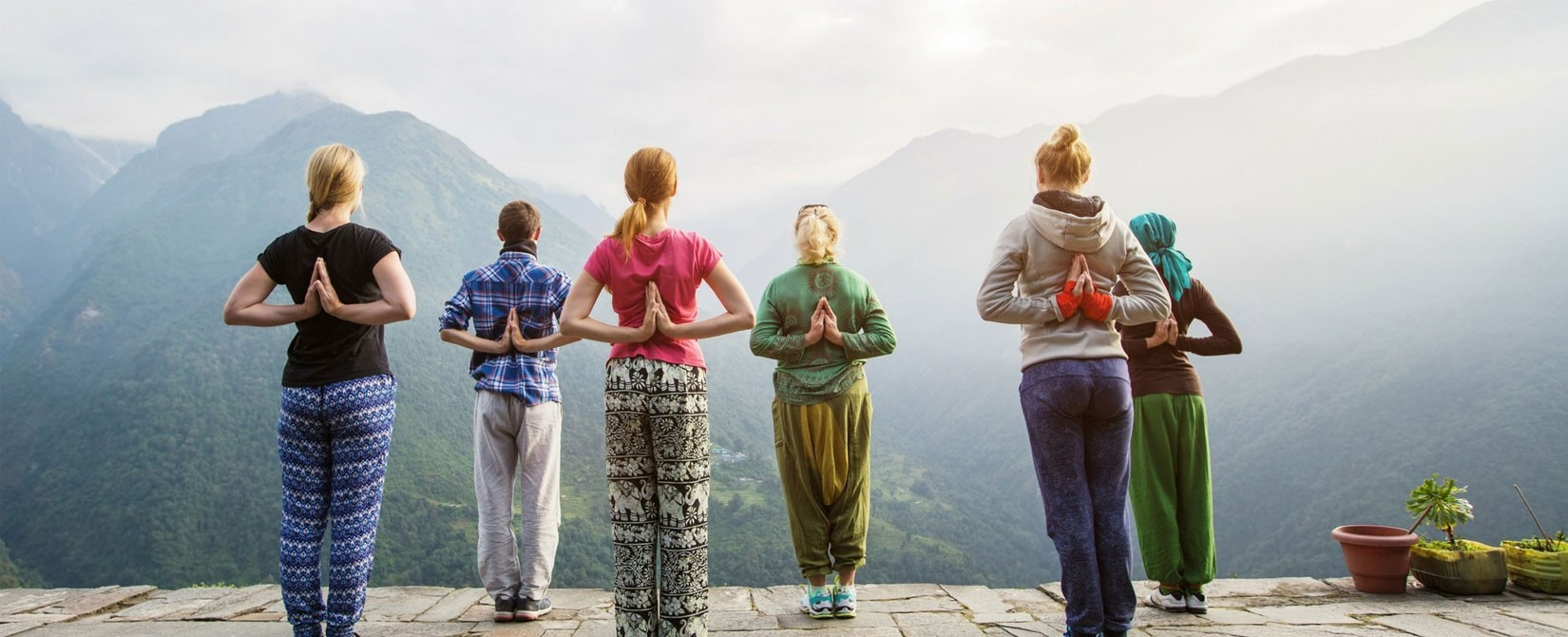 Yoga Trekking in the Himalayas Of Nepal