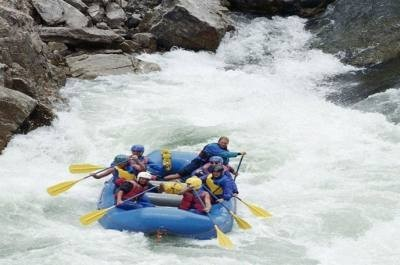 White Water Rafting In Nepal- Bhote Koshi River Rafting in Nepal