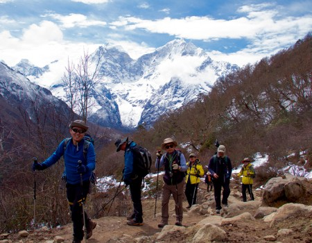 Trekkers To Everest Base Camp